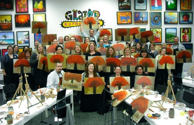 Glazed Expression Party and Valentine's Day!
