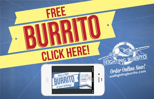 Coupons for fighting burrito