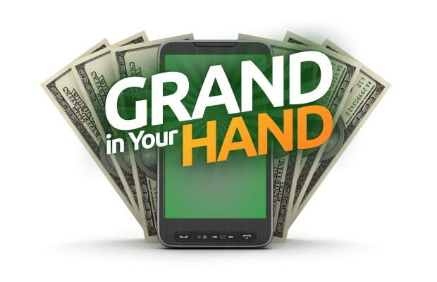 Win a Grand In Your Hand