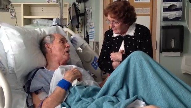 Video: Adorable, Elderly Couple Sing to Each Other