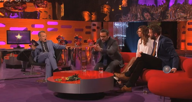 Video: Steve Carrell Catches a Fly, Host Drinks It
