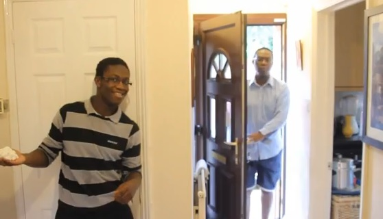 Video: Whipped Cream Prank Gone Wrong