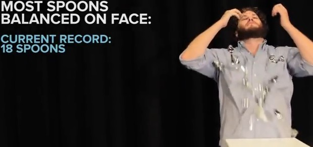 Video: Failing 16 World Records in 62 Seconds