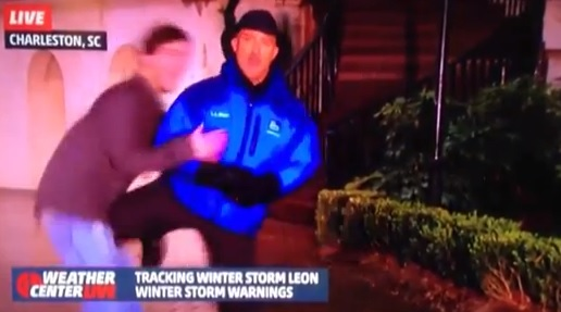 Video: Don't Mess With This Weatherman