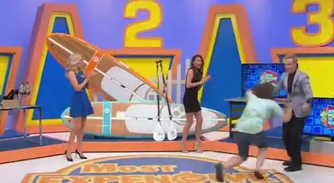Video: Price Is Right Contestant Headbutts a Model