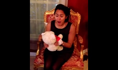 Video: Girl Reunited With Childhood Teddy Bear