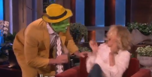 Video: Ellen Scares Cameron Diaz