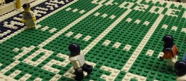 Video: The Super Bowl…Lego-Style