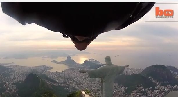 A Fly-By Through Rio's Redeemer Statue