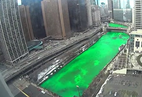 "The ""Green""-ing of the Chicago River"