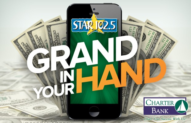 Grand in Your Hand Presented by Charter Bank