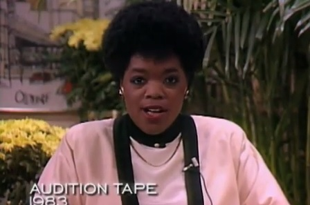 Oprah's First Audition Tape