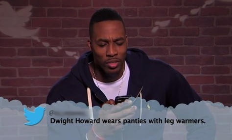 Mean Tweets About NBA Players