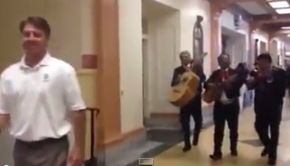 Students Prank Principal With Mariachi Band