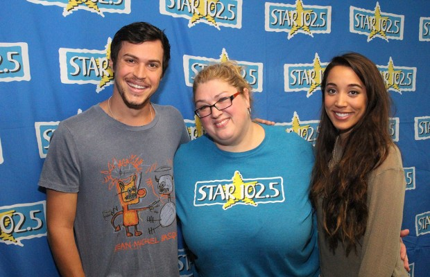 Alex and Sierra from X Factor!