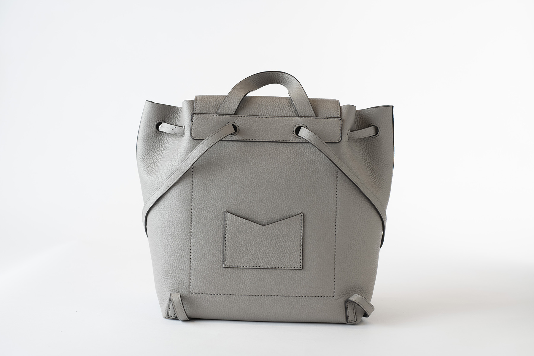 e472b303b962 ... Kors Junie Kors Studio Medium Flap Backpack Leather! But I'm not your  ordinary backpack. My smooth leather body touch and pearl grey finish will  have ...